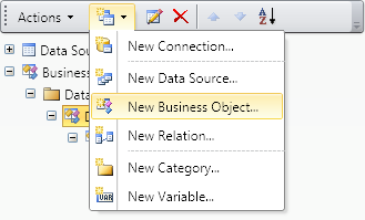 A new method of working with business objects