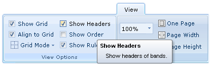 ShowHeaders Option in Designer.Web