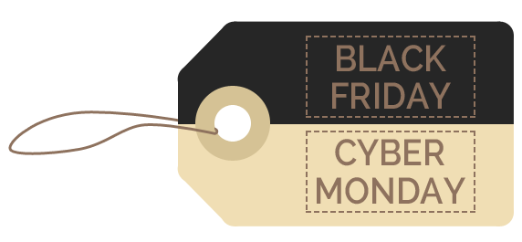 Black Friday – Cyber Monday. 30% Off Everything