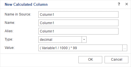 Calculated Data Column in Reports.Java