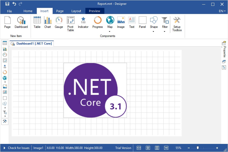 Support for .NET Core 3.1 in WinForms