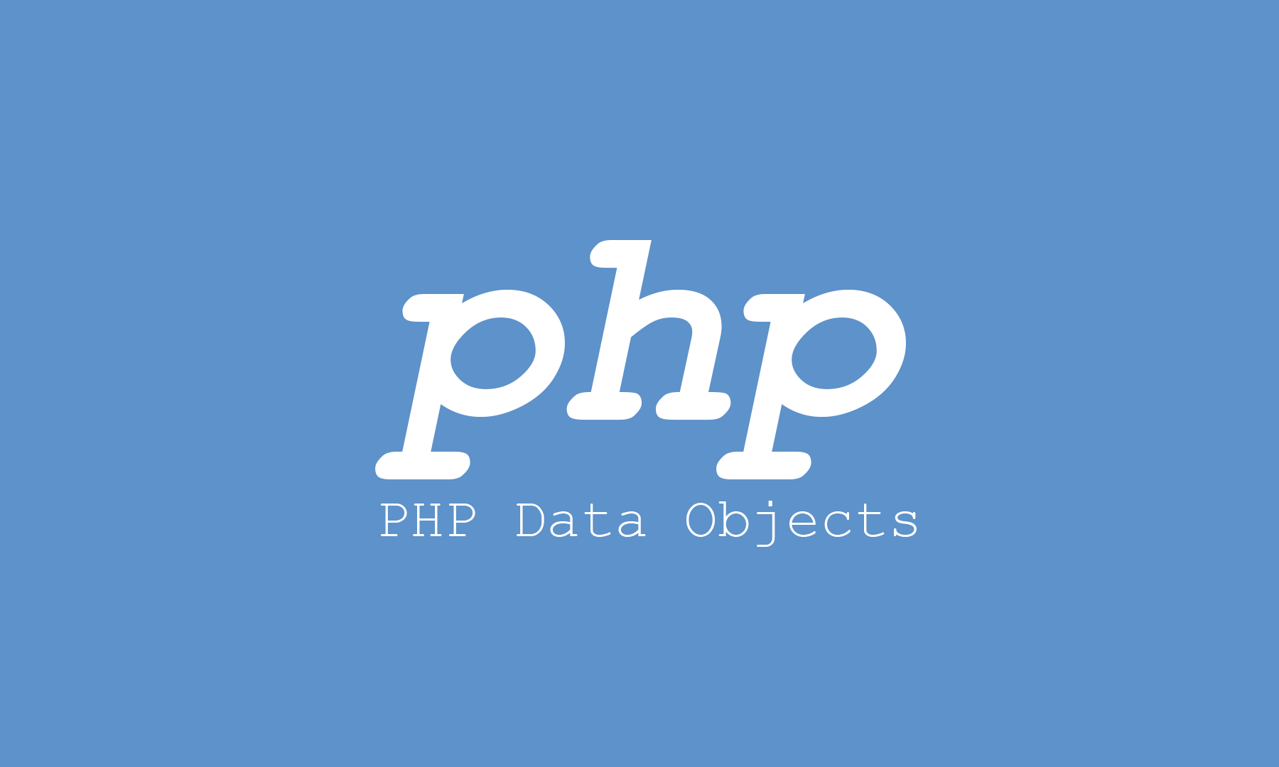 Support for PDO data adapters for PHP