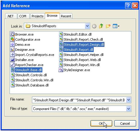 Register Business Objects with Report Desinger