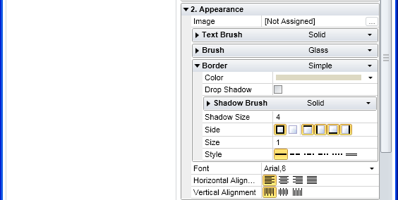 Create a style in Ribbon GUI