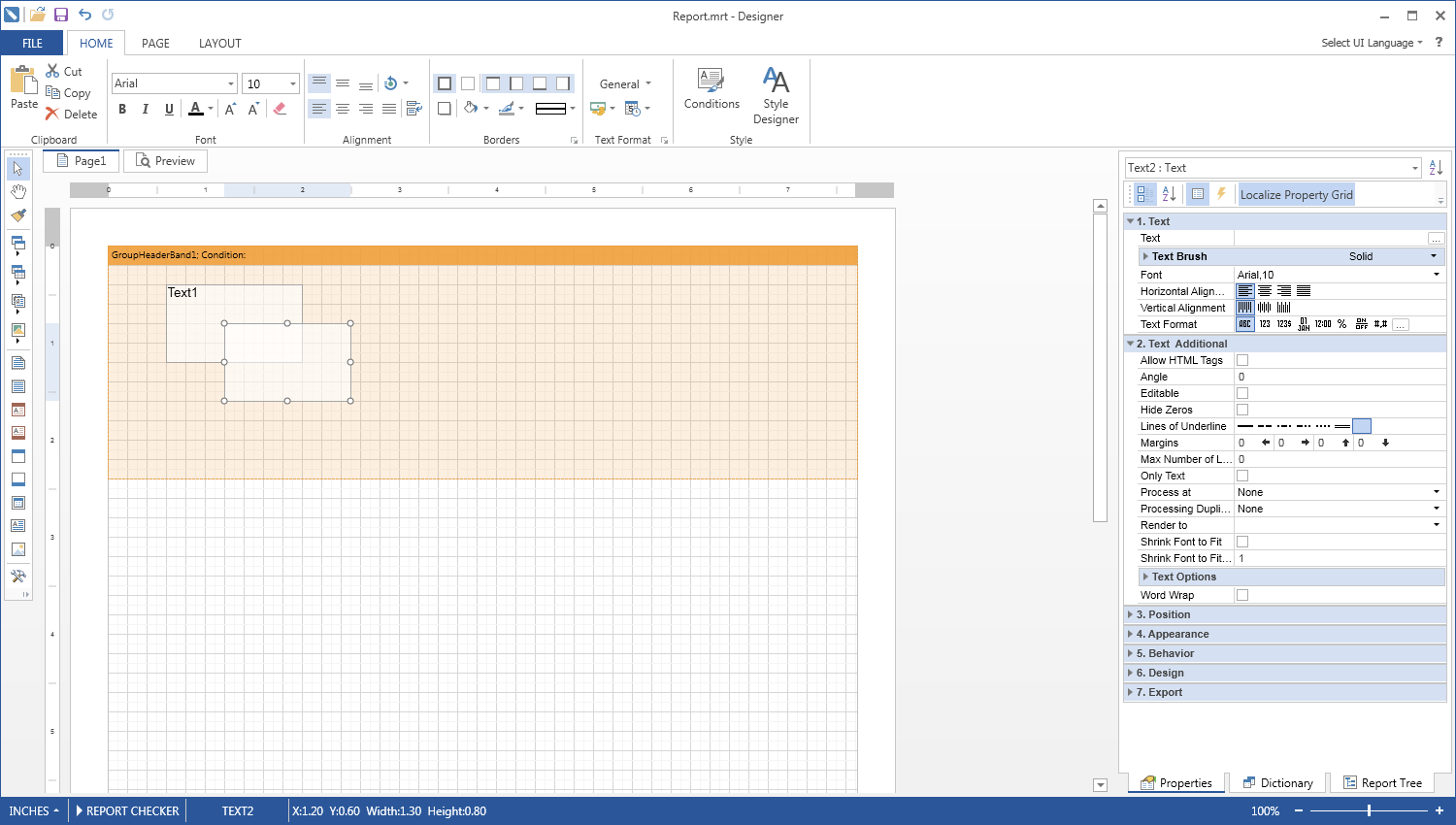 Reporting Tool for WPF  Rich Abilities to Render, View