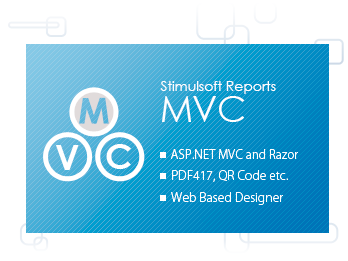 Stimulsoft Reports.Web for MVC
